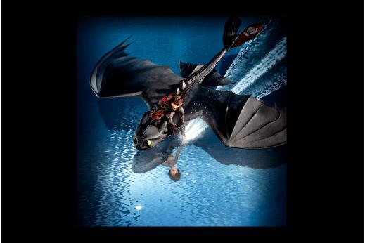 Постер Как приручить дракона