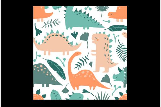 Картина Динозавры